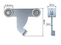 Ролик тента (боковой шторы) 30,5х110х96 мм