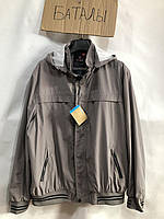 """Куртка чоловіча демісезонна, р-ри, батальна 60-70 (2 цв) """"FEBRUARY"""" купити недорого від прямого постачальника"""