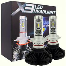 Автомобильные LED лампы X3-H7