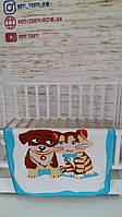 Флисовый плед для новорожденных Kidifix Baby, Дитячій флісовий плед