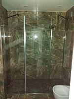 Стеклянные двери в душ 8 мм прозрачные 110 * 200 двери из стекла закаленного