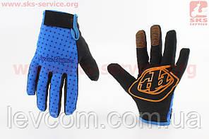 Рукавички XL синьо-чорні, з силіконовими вставками, що НЕ оригінал