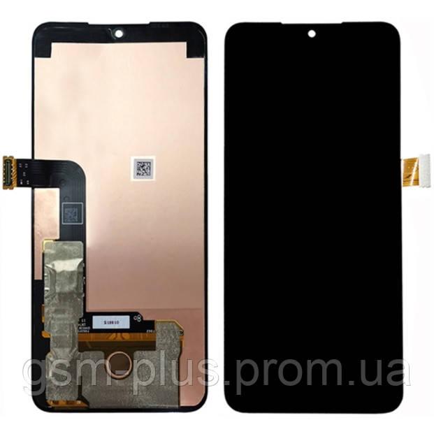 Дисплей LG G8X ThinQ, V50S ThinQ 5G, LMG850EMW, LM-V510N complete Black