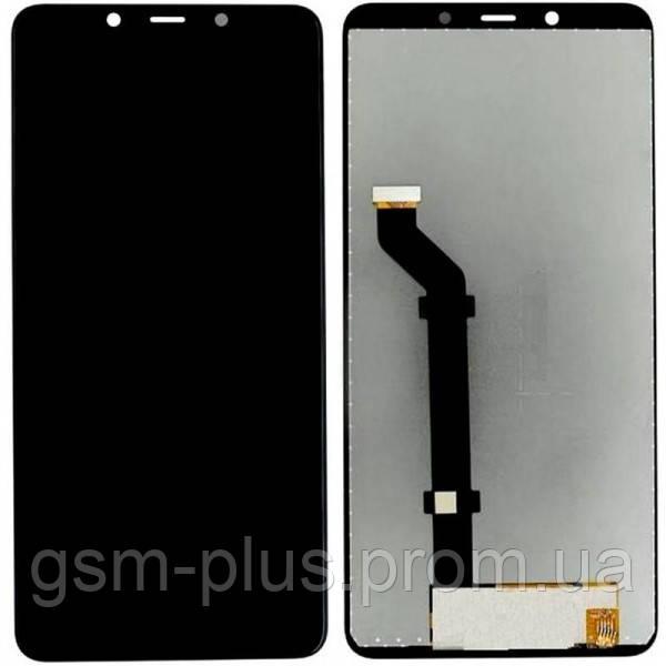 Дисплей Nokia 3.1 Plus complete Black OR (PRC)
