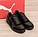 Чоловічі шкіряні кросівки Puma Ferrari чорні, фото 4