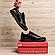 Чоловічі шкіряні кросівки Puma Ferrari чорні, фото 6