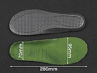 Спортивні устілки KROK латекс Green (зелені) 41