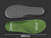 Спортивні устілки KROK латекс Green (зелені) 43