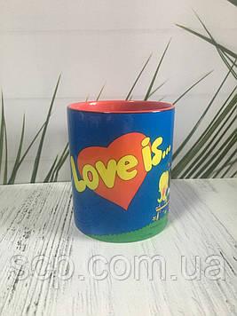 Чашка Love Is (Лав ис)