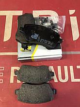 Колодки тормозные дисковые, комплект Road house 2987.00=410604775R RENAULT Clio Kangoo Duster Logan