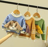 Дитячі кашемірові светри / Свитер для девочек и мальчиков, пуловер осенне-зимний, детский кашемировый свитер