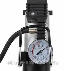 Компресор AIR COMRPRESSOR SINGLE BAR GAS PUMP 12V для підкачки коліс, фото 3