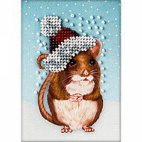 Магнит для вышивки бисером Год Крысы