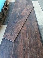 Безшовна плитка під дошку Redwood Mahogany 145х895мм Керамограніт для підлоги під темний паркет