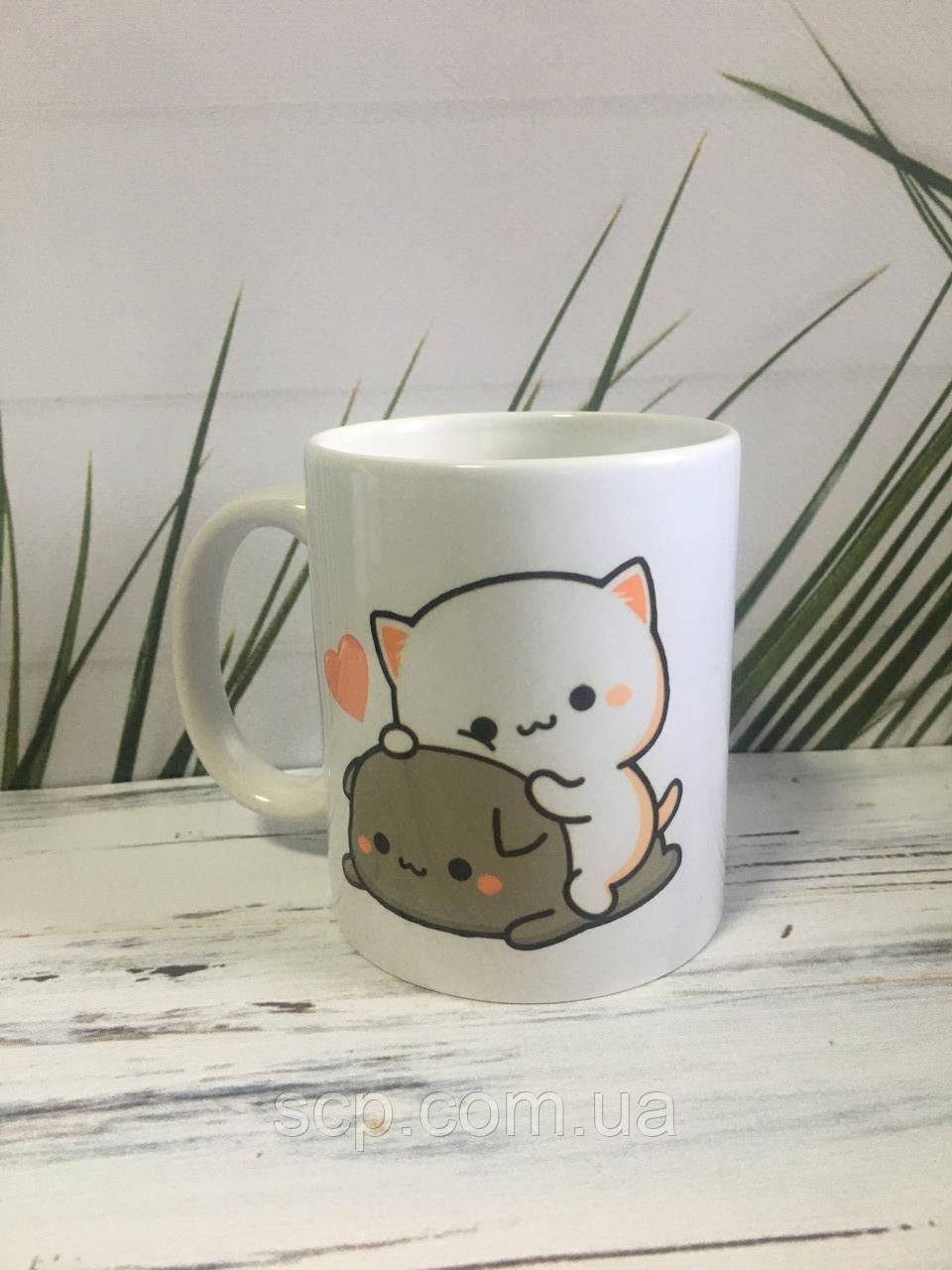 """Чашечка """"Милые котики"""""""