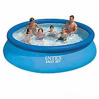 Семейный надувной бассейн Intex Бассейн для всей семьи надувной Бассейн надувной круглый Надувной бассейн