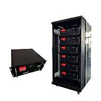 Акумуляторний блок Lifepo4 48V (200Ah/150Ah/100Ah/80Ah) для системи сонячної енергії (великої ємності), фото 1