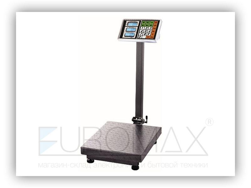 Весы электронные торговые 600кг 45х60см усил. платф. single platform BITEK YZ-909-G5A 1шт 9432
