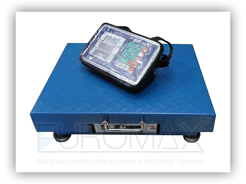 Весы электронные торговые WiFi 300кг 40х50см 4В BITEK TCS-R2 1шт 9408