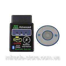 Авто сканер ELM327 OBD2 OBD-II V2.1 Bluetooth діагностика автомобілів автосканер, фото 2