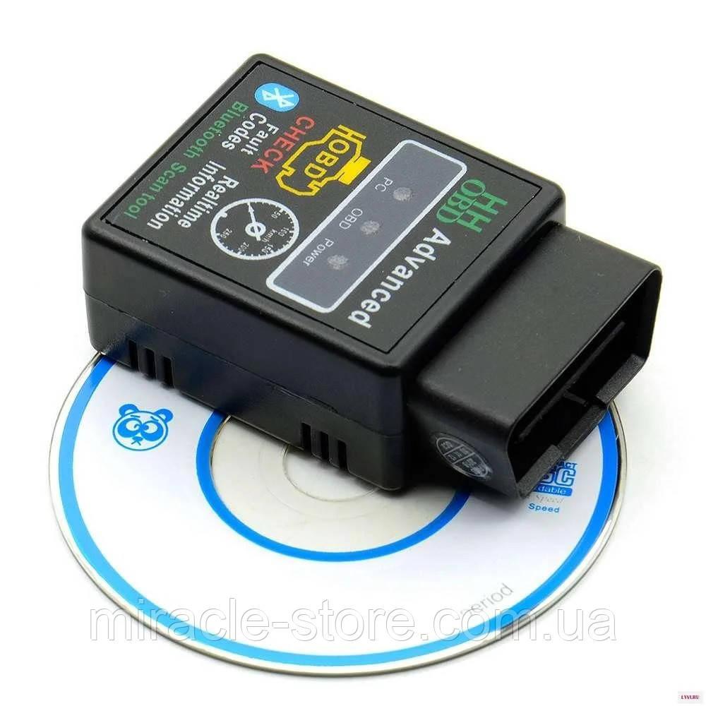 Авто сканер ELM327 OBD2 OBD-II V2.1 Bluetooth діагностика автомобілів автосканер