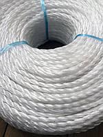 """Веревка полипропиленовая """"Самокрут"""" (4,0 мм.) - 200 м., фото 1"""