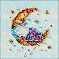 Магнит для вышивки бисером Крыса сладких снов