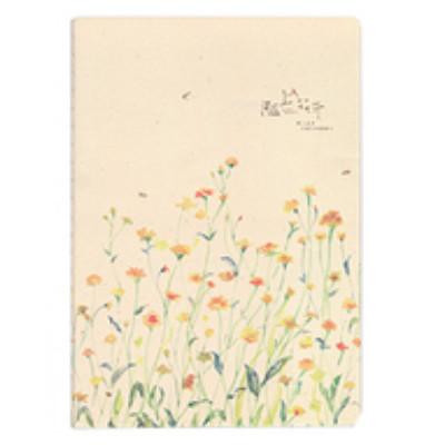 Зошит в лінію Жовті квіти
