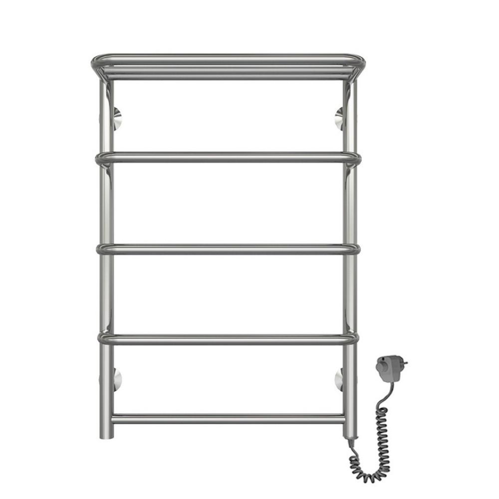 Полотенцесушитель електричний Lidz Standard shelf (CRM) P5 500x700 RE з полицею