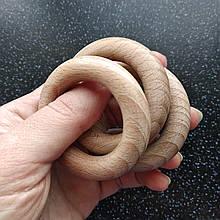 Деревянные кольца 55/10 мм для слингобус и грызунков, бук