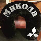 Автомобильная подушка-подголовник под шею  Рогалик, фото 7