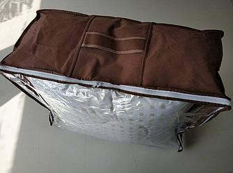 Упаковка для одеяла MAXI (600х450х270мм) ПВХ 70 Коричневый