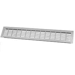 Решітка вентиляційна 480х80 мм GTV Алюміній (KK-W80800-D0)