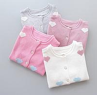 Весняні светрики для дівчаток / весенние свитера для маленьких девочек, детская одежда, хлопковый детский