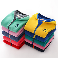 Дитяча флісова кофта на блискавці / Дитяча флісова куртка з флісу, дитячий светр з капюшоном