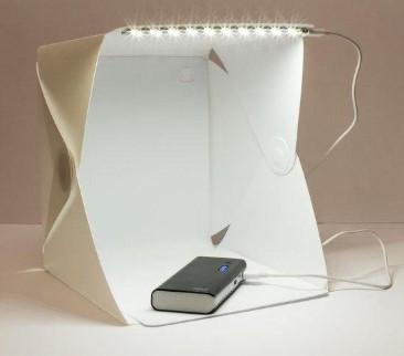 Лайтбокс lightbox 30*30см для предметной фотосъёмки