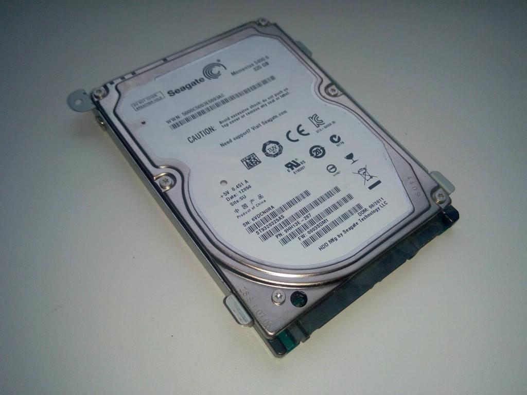 "Жесткий диск Seagate 320Gb 2.5"" Б\У"
