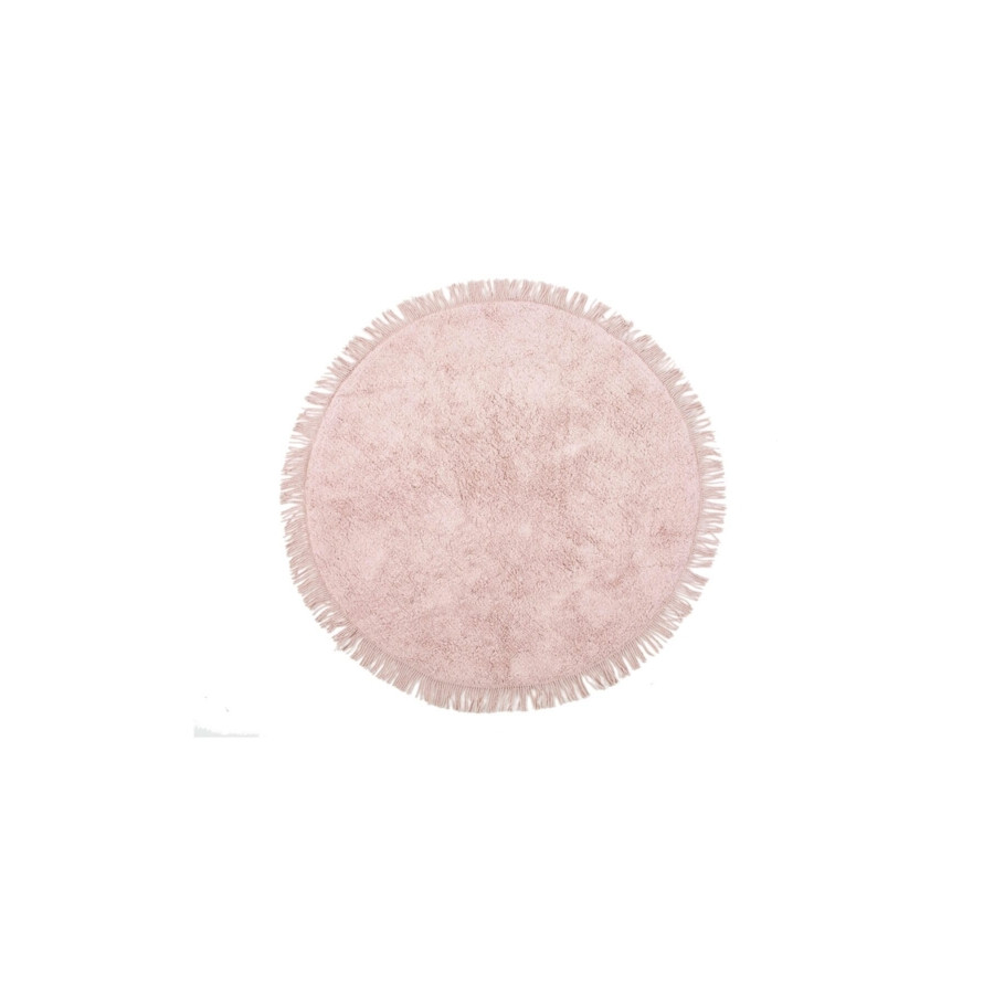 Килимок Irya - Loris pembe рожевий 100*100