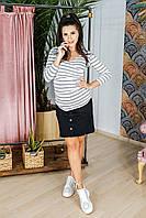 Джинсовая юбка для беременных 4119693-6
