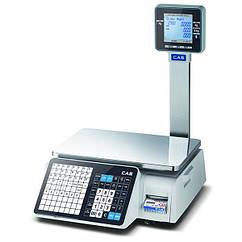 Весы торговые с печатью этикетки на 15 кг – CL3500-P CAS