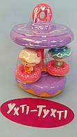 Магазин Mini Candy, витрина-карусель, ездит, музыка, звук, сладости, фигурки 777-2МТ