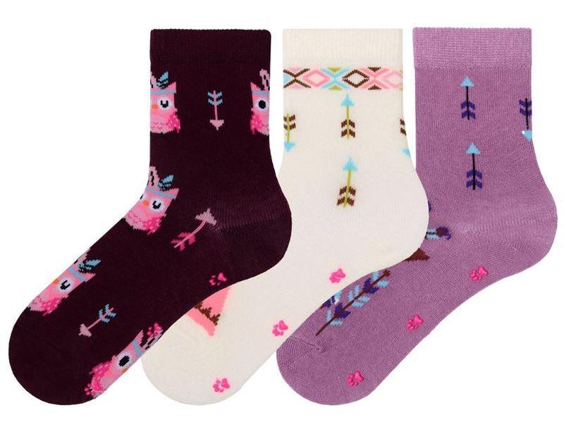Детские носки из хлопка с рисунком Bross с тормозками
