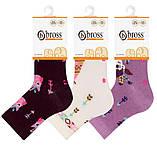 Дитячі шкарпетки з бавовни з малюнком Bross з тормозком, фото 6