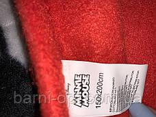 Пледи флісові дитячі оптом Disney Minie, 150*200 см, фото 2