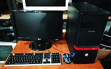 Системный блок + монитор + клавиатура/мышь