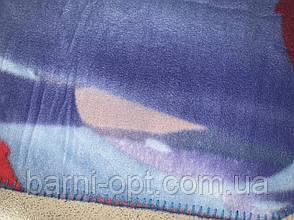 Пледи флісові дитячі оптом Disney, 100*140 см, фото 2