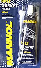 Герметик силиконовый MANNOL черный 85 гр.
