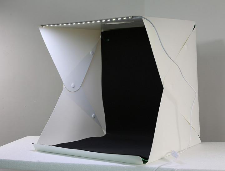 Лайтбокс MagicBox для предметной макросъемки съемки с Led подсветкой 40*40см