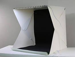 Лайтбокс MagicBox для предметної макрозйомки, зйомки з Led підсвічуванням 40*40см