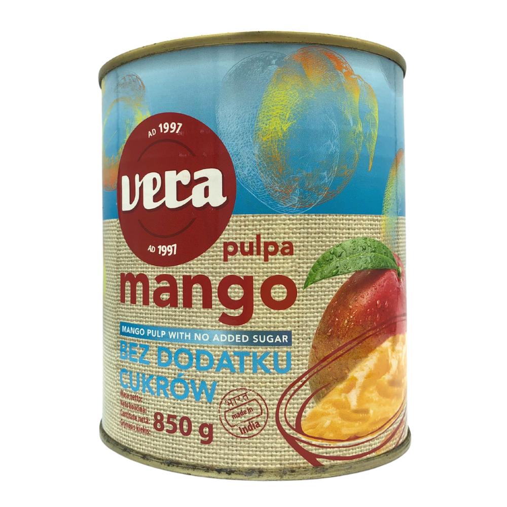 М'якоть манго Alphonso 850 мл, без цукру, 12 шт/ящ
